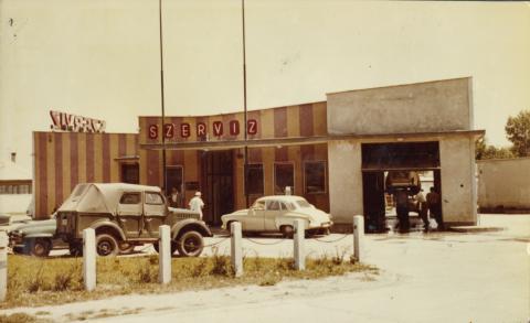 A siófoki Škoda szerviz