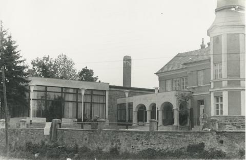 Az egykori Solymosy-villa toldaléképülete