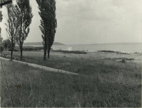 Balatonudvari tópartja