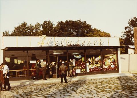 A balatonudvari élelmiszerbolt