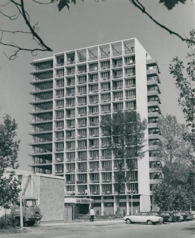 A Hotel Európa főhomlokzata