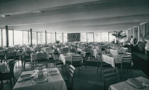 A SZOT Üdülő étterme