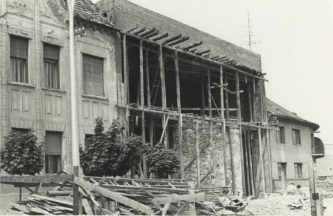 Épülő ház Keszthelyen
