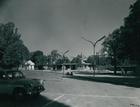 Balatonfüred központja az 1960-as években