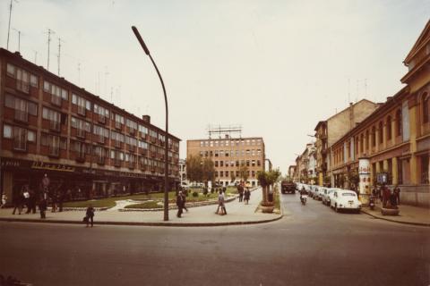 Kaposvári utcakép