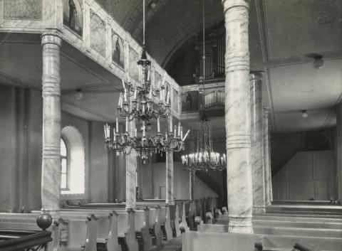 Bonyhád, evangélikus templom belső tere