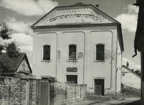 A bonyhádi ortodox zsinagóga