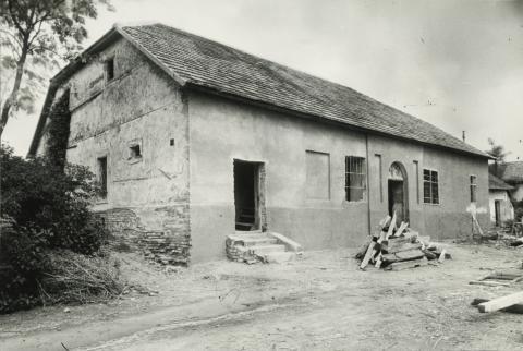 Az abonyi Gerhardt ház renoválása