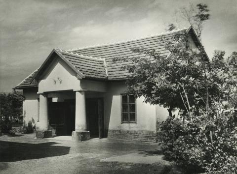 Az abonyi Lavatka kúria melléképülete