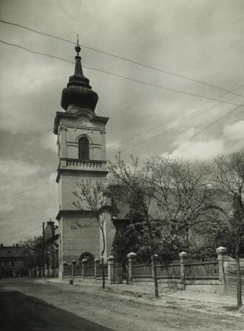 Az abonyi református templom