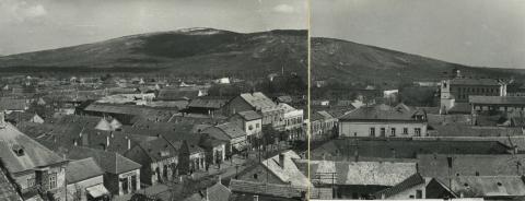 Gyöngyös, Kossuth Lajos utca a Sár-heggyel