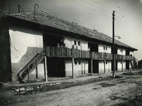 Gyöngyös, Bányász utca 8., ún. bányászház