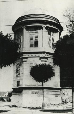 Gyöngyös, az egykori Orczy-kastély délnyugati gloriettje