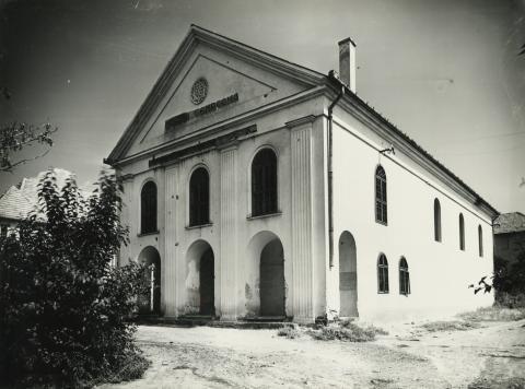 Gyöngyös, zsidó hősök temploma