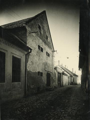 A bajai Granaug utca részlete