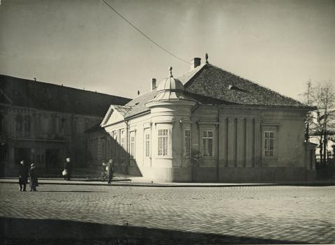 A bajai egykori Vojnich-kúria