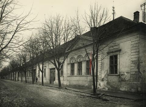 A bajai Szamuely Tibor utca részlete