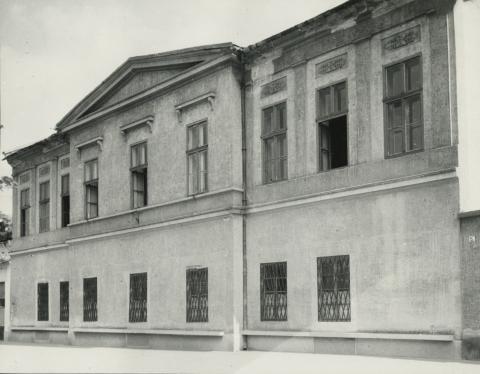 A balassagyarmati Civitas Fortissima (volt Köztársaság) tér  7/a. szám alatti épület