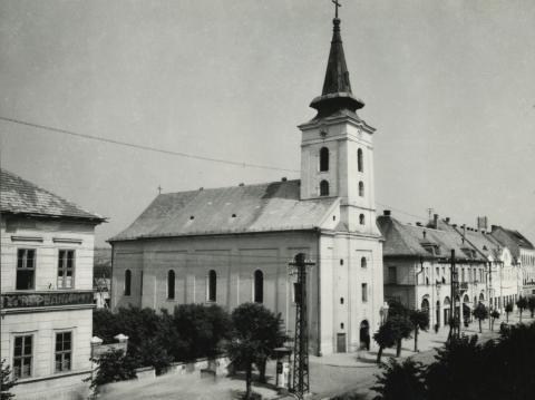 A balassagyarmati Szentháromság római katolikus templom