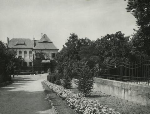 A balassagyarmati Palóc liget a Palóc Múzeummal