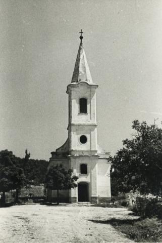 A felsődörgicsei evangélikus templom