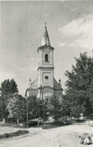 A balatoncsicsói római katolikus templom