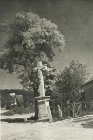 Kőkereszt Felsőörsön 1827-ből