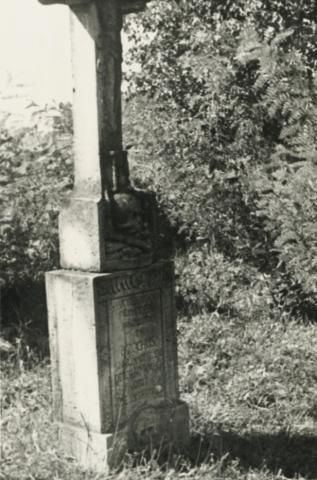 Josephus Fuxhoffer síremléke (1814) Felsőörsön