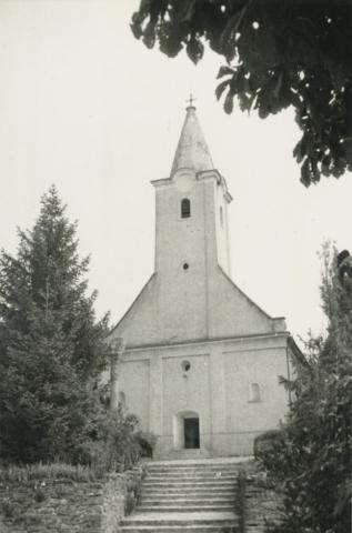A káptalantóti római katolikus templom