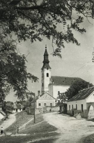A köveskáli református templom