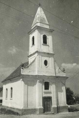 A mencshelyi római katolikus templom