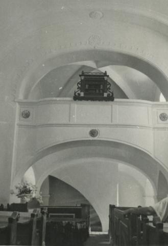 A monoszlói református templom karzata