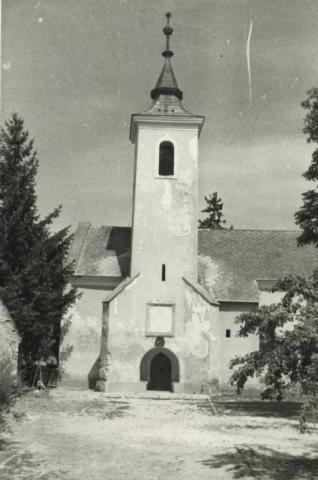 A balatonszőlősi református templom