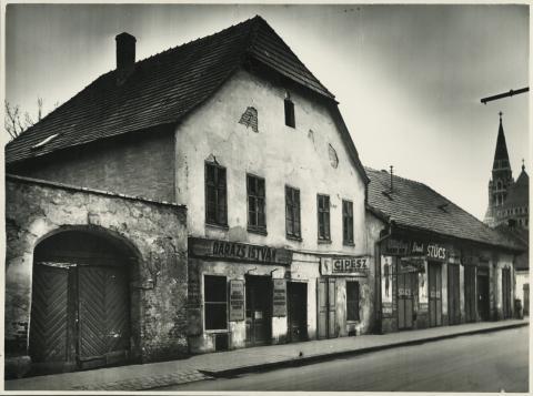 A szegedi Apponyi Albert (ma Oskola) utca 6. számú épület