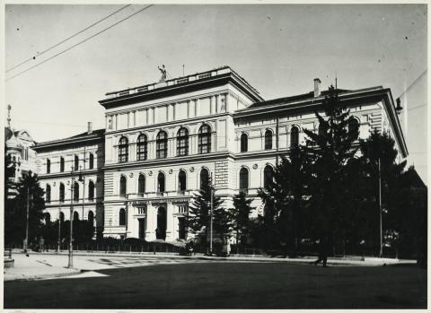 A szegedi egykori Főreáltanoda, ma a Szegedi Tudományegyetem központi épülete