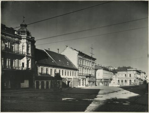 A szegedi Klauzál tér lakóházai