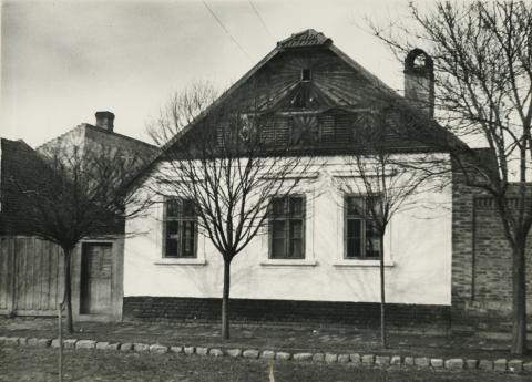 A szegedi Pásztor utca 73. számú parasztháza