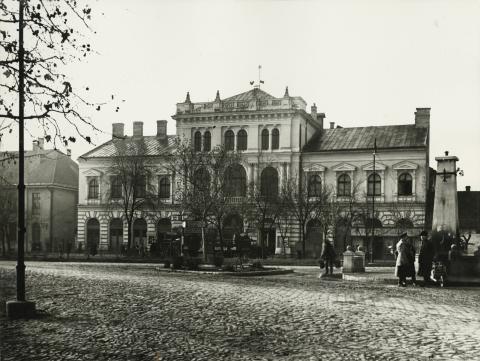 A békési egykori Kultúrház épülete