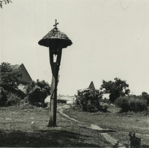 Balatonakali, harangláb Ság-pusztán
