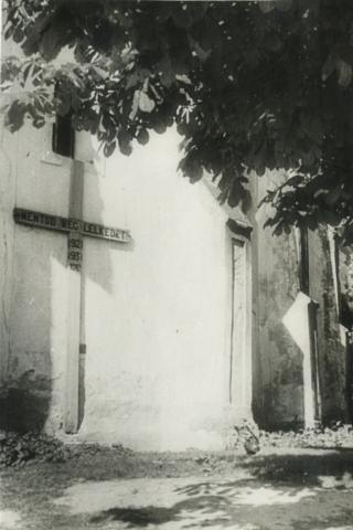 Balatonberényi Keresztelő Szent János-templom támpillérei