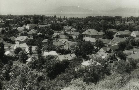 Balatonboglár, Kilátás a régi temetőből