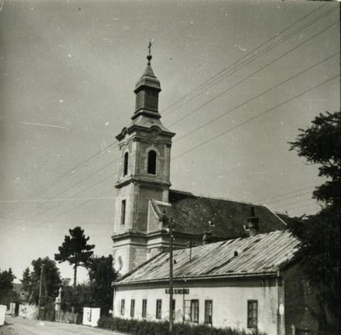 Balatonederics, Keresztelő Szent János-templom