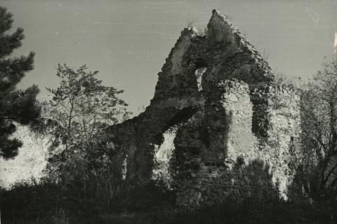 Balatonfűzfő, Templomrom