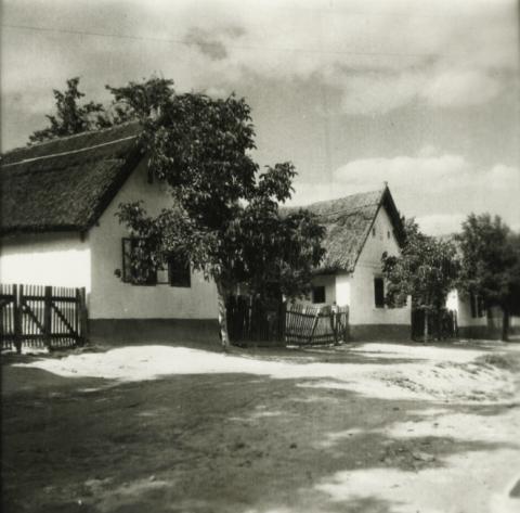 Balatonkenese, Kossuth Lajos u. látképe