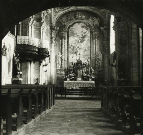 Balatonkeresztúri Szent Kereszt felmagasztalása római katolikus templom hajója
