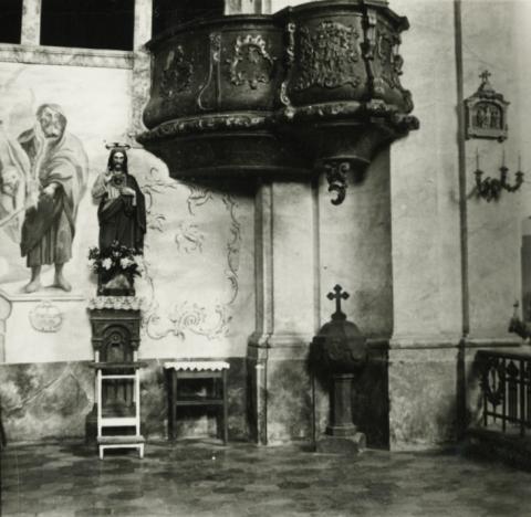 Balatonkeresztúr, katolikus templom szószéke