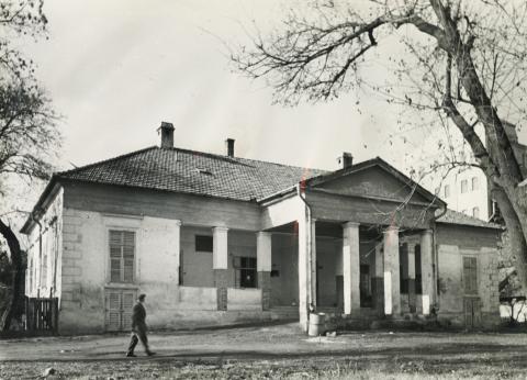 Az Ursziny–Beliczey-kúria épülete Békéscsabán