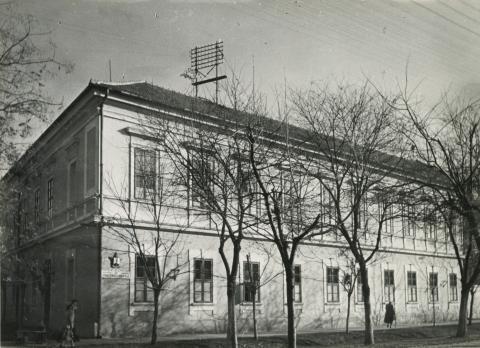 A békéscsabai Baross utca 3. szám alatti iskola