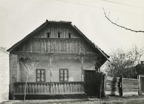 A békéscsabai Szigetvári utca 43. szám alatti parasztház
