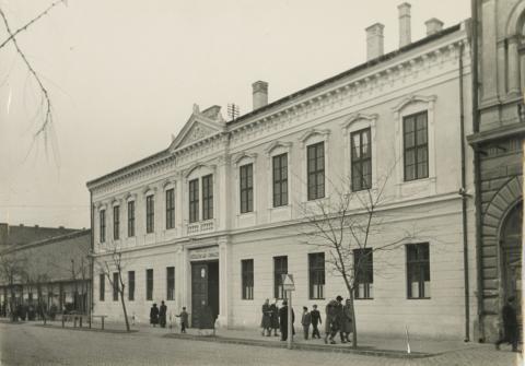 A békéscsabai Andrássy út 3. szám alatti iskola